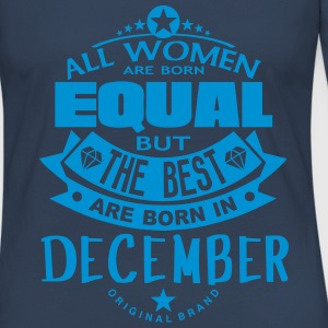 december women equal best born month Long Sleeve Shirts - Women's Premium Longsleeve Shirt