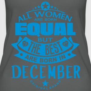 december women equal best born month Tops - Camiseta de tirantes orgánica mujer