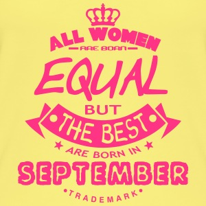september women equal best born month Tops - Camiseta de tirantes orgánica mujer