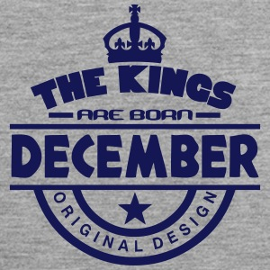 december kings born birth month crown Sportbekleidung - Männer Premium Tank Top