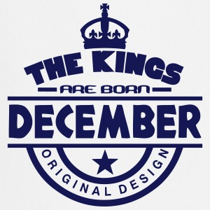 december kings born birth month crown logo Grembiuli - Grembiule da cucina
