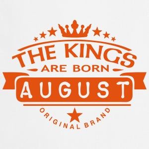 august kings born birth month crown logo Grembiuli - Grembiule da cucina