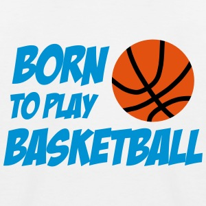 Born to play Basketball T-shirts - Maglietta da baseball per bambini