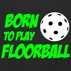 Born To Play Floorball Långärmade T-shirts - Kinder Premium Langarmshirt