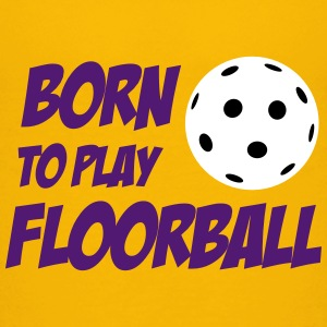 Born To Play Floorball T-shirts - Premium-T-shirt barn