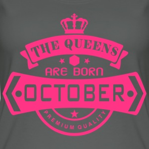 october born queens crown logo Tops - Women's Organic Tank Top