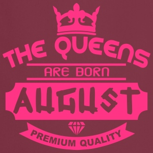 august born queens crown logo  Aprons - Cooking Apron