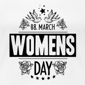 frauentag Design womens day - Frauen Premium T-Shirt