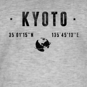 Kyoto Tee shirts - T-shirt vintage Homme