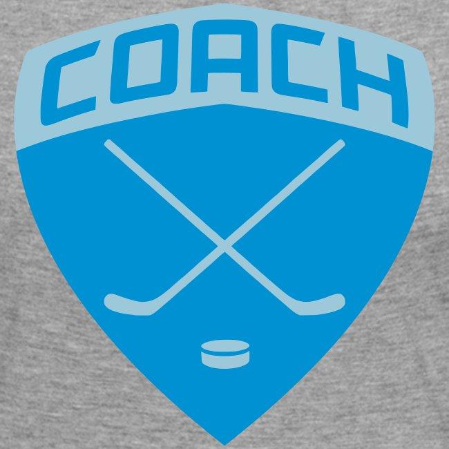 Ice Hockey Coach Women's Long Sleeve T-Shirt