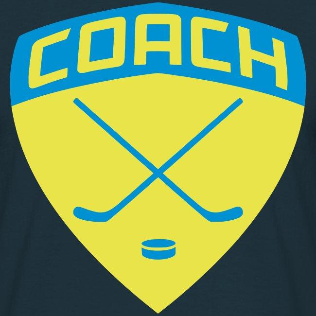 Ice Hockey Coach Men's T-Shirt