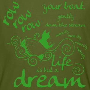 Life is but a dream T-shirts - Mannen Bio-T-shirt