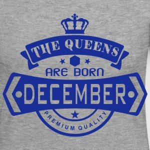 december born queens crown logo Long Sleeve Shirts - Women's Premium Longsleeve Shirt
