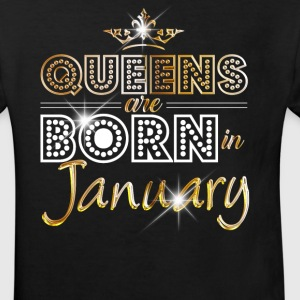 January - Queen - Birthday - 2 Tee shirts - T-shirt Bio Enfant