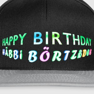 Happy Birthday Caps & Mützen - Snapback Cap