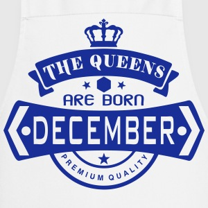 december born queens crown logo Grembiuli - Grembiule da cucina