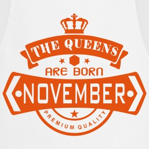 november born queens crown logo Grembiuli - Grembiule da cucina