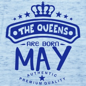 may born queens crown logo Tops - Women's Tank Top by Bella