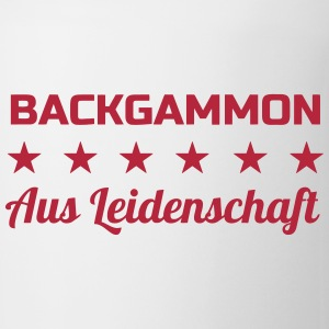 Backgammon Game Spiel Jeu Gamer Play Mugs & Drinkware - Mug