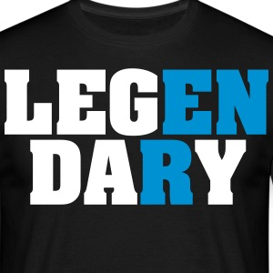 Legendary | Leg Day | Funny Gym Shirt Camisetas - Camiseta hombre