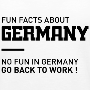 fun facts about germany Tops - Frauen Premium Tank Top