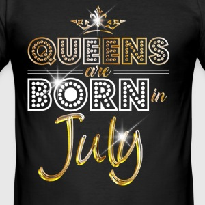 July - Queen - Birthday - 2 Camisetas - Camiseta ajustada hombre
