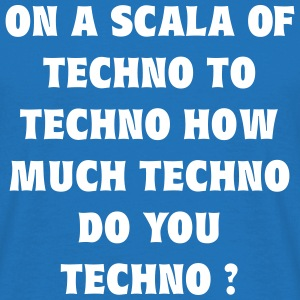 A Scala of Techno T-Shirts - Männer T-Shirt