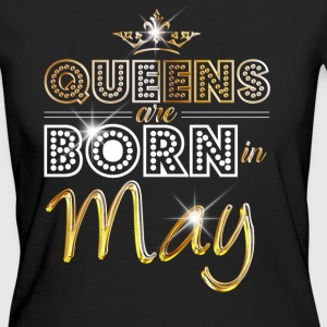 May - Queen - Birthday - 2 T-shirts - Organic damer