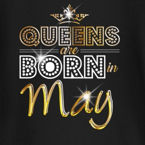 May - Queen - Birthday - 2 Baby Langarmshirts - Baby Langarmshirt