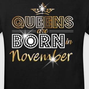 November - Queen - Birthday - 2 Shirts - Kinderen Bio-T-shirt