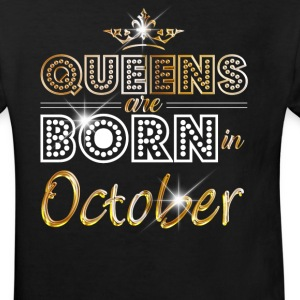 October - Queen - Birthday - 2 Shirts - Kids' Organic T-shirt