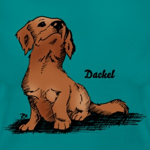 Hund Dackel T-Shirts - Frauen T-Shirt