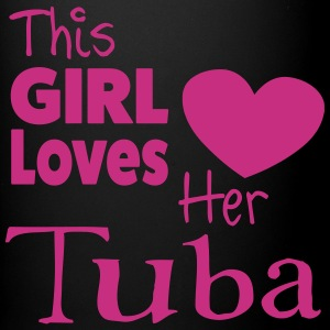 This Girl Loves Her Tuba, Mug - Full Colour Mug