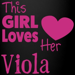 This Girl Loves Her Viola, Mug - Full Colour Mug