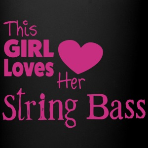 This Girl Loves Her String Bass, Mug - Full Colour Mug