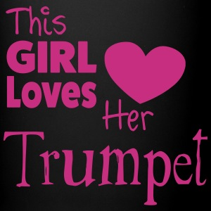 This Girl Loves Her Trumpet Tazas y accesorios - Taza de un color