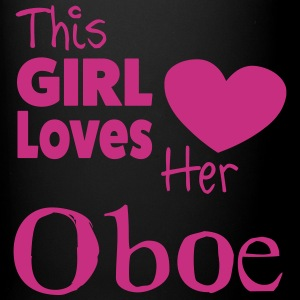 This Girl Loves Her Oboe, Mug - Full Colour Mug