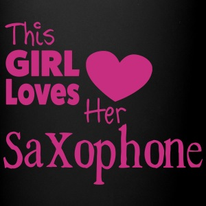 This Girl Loves Her Saxophone, Mug - Full Colour Mug