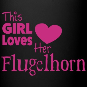 This Girl Loves Her Flugelhorn, Mug - Full Colour Mug