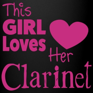 This Girl Loves Her Clarinet, Mug - Full Colour Mug