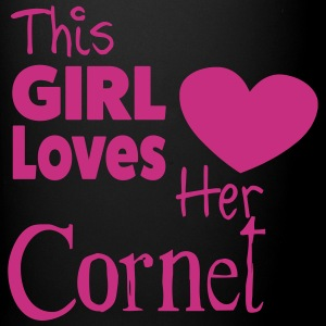 This Girl Loves Her Cornet Tazas y accesorios - Taza de un color