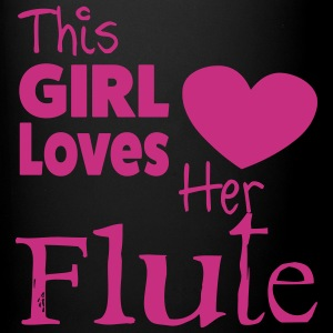 This Girl Loves Her Flute, Mug - Full Colour Mug