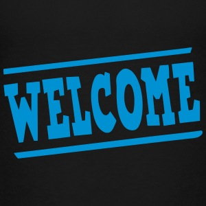 Welcome panel Shirts - Kids' Premium T-Shirt