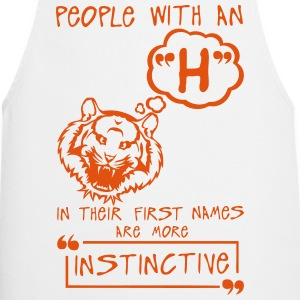 h instinctive letter first names citatio  Aprons - Cooking Apron
