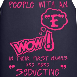 e seductive letter first names citation  Aprons - Cooking Apron