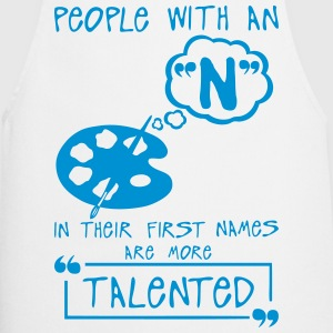 n talented letter first names citation  Aprons - Cooking Apron