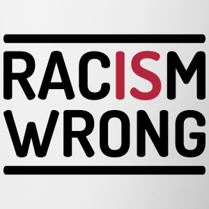 Racism is wrong