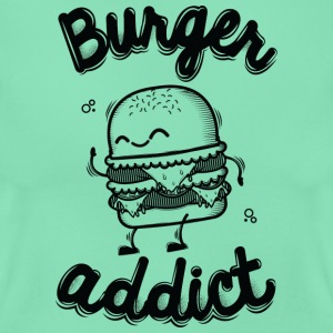 Dunkle Minze Burger Addict T-Shirts - Frauen T-Shirt