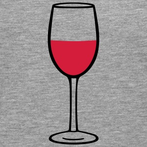 Wine glass Manga larga - Camiseta de manga larga premium hombre