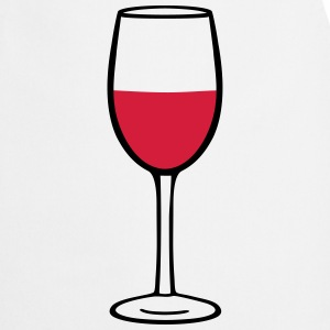 Wine glass, vin Tabliers - Tablier de cuisine